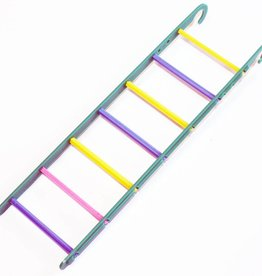 Happy Pet Fun At The Fair Bird Toy 7 Step Ladder