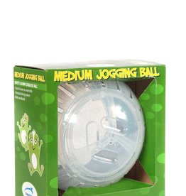 Happy Pet Jogging Ball Glitter for Small Animals, Medium^