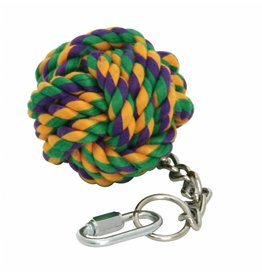 Happy Pet Knuts For Knots Ball On Chain Bird Toy