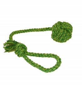 Happy Pet Nuts For Knots Rope & Ball Dog Toy
