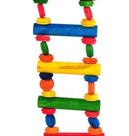 Happy Pet Playtime Multiwood 2 Ladder Bird Toy