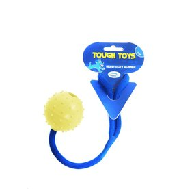 Happy Pet Studded Rope Ball 2inch Dog Toy