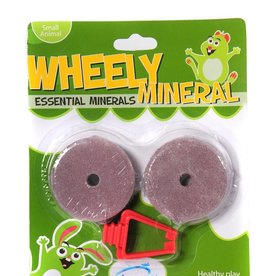 Happy Pet Wheely Mineral Lick for Small Animals