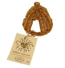 Happy Pet Willow Wigwam for Small Animals, Small