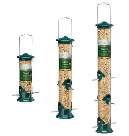 Harrisons Green Die-Cast Aluminium Seed Bird Feeder
