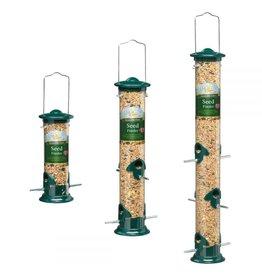 Harrisons Green Die-Cast Aluminium Seed Bird Feeder