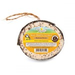 Harrisons Half Coconut High Energy Suet Feeder with Mealworms for Wild Birds