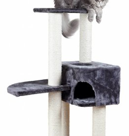 Trixie Alicante Cat Scratching Post, Anthracite, 142cm