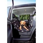 Trixie Car Rear Seat Cover, Black & Beige, 1.4 x 1.45m