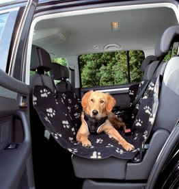 Trixie Car seat cover black/beige