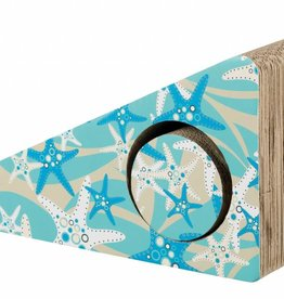 Trixie Cardboard Cat Scratching Ramp, 2 pieces 48cm, turquoise
