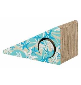 Trixie Cardboard Cat Scratching Ramp, Turquoise, 44 x 23 x 21cm