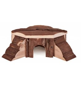 Trixie Natural Living Thordis Wooden Corner Small Animal House, 21 x 7 x 19cm
