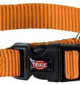 Trixie Premium Nylon Collar, Copper Orange
