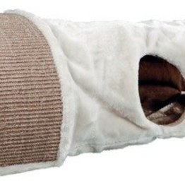 Trixie Cat Scratching Tunnel Cave with Toys on String, 110 x 38cm