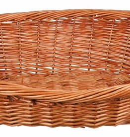 Trixie Wicker Basket Pet Bed with Twisted Rim
