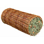 Trixie Wicker Tunnel with Hay for Rabbits & Small Animals, 15 x 33cm, 110g