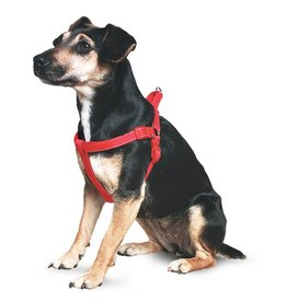 Ancol Heritage Reflective Padded Nylon Dog Harness, Red