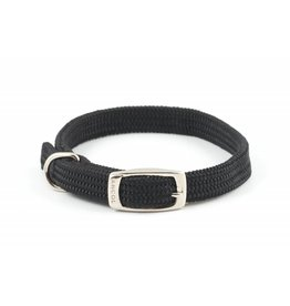 Ancol Heritage Nylon Softweave Dog Collar, Black
