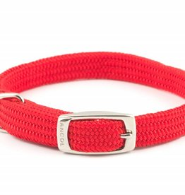 Ancol Heritage Nylon Softweave Dog Collar, Red