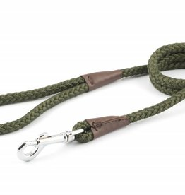 Ancol Heritage Nylon Rope Dog Lead, Green