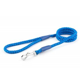 Ancol Heritage Nylon Rope Dog Lead, 2 Tone Blue