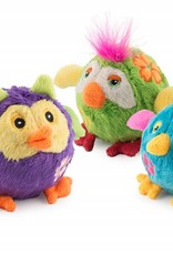 Ancol Bouncing Flower Birds for Small Dog Toys