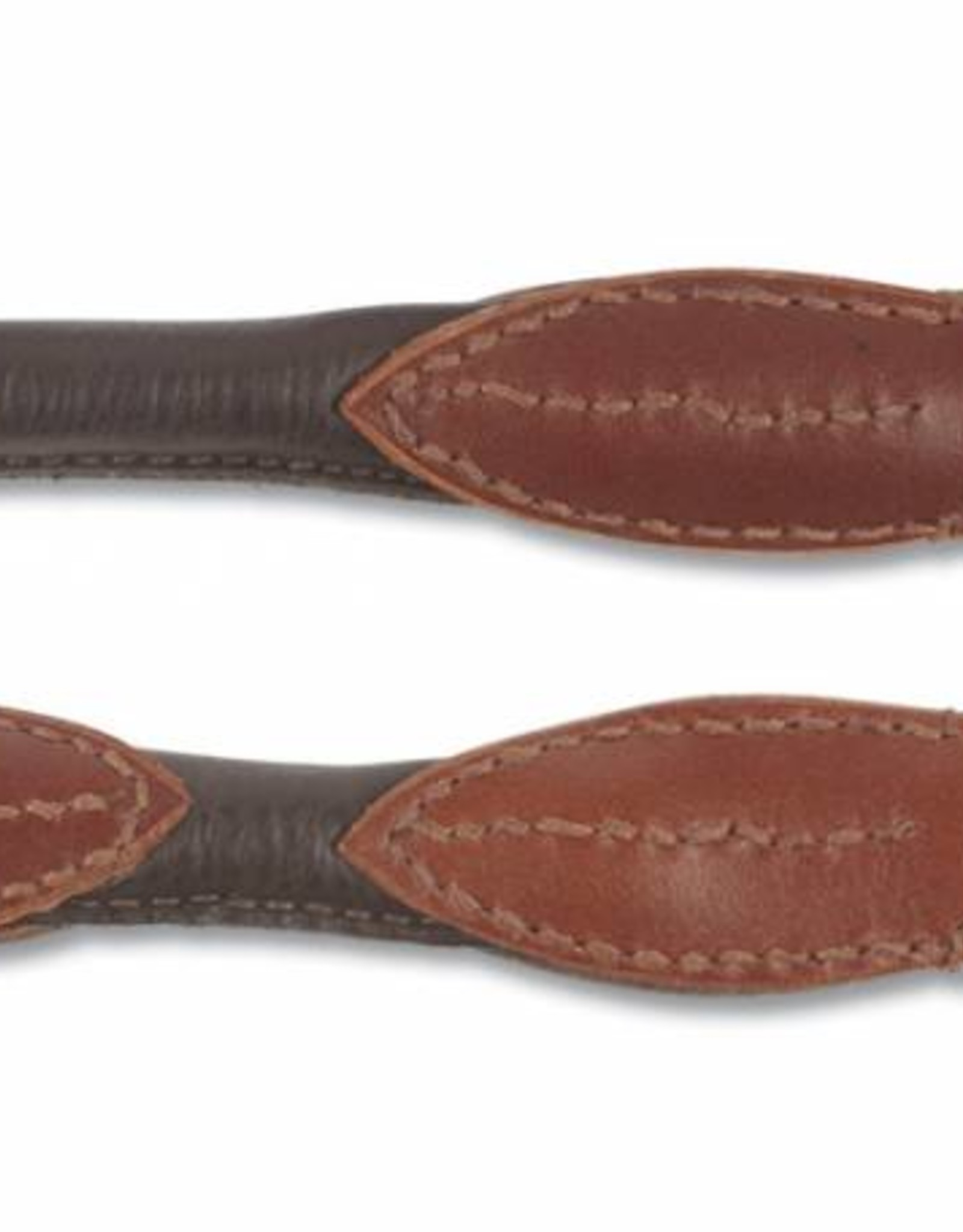Ancol Deluxe Round Leather Training Lead 19mm x 2m