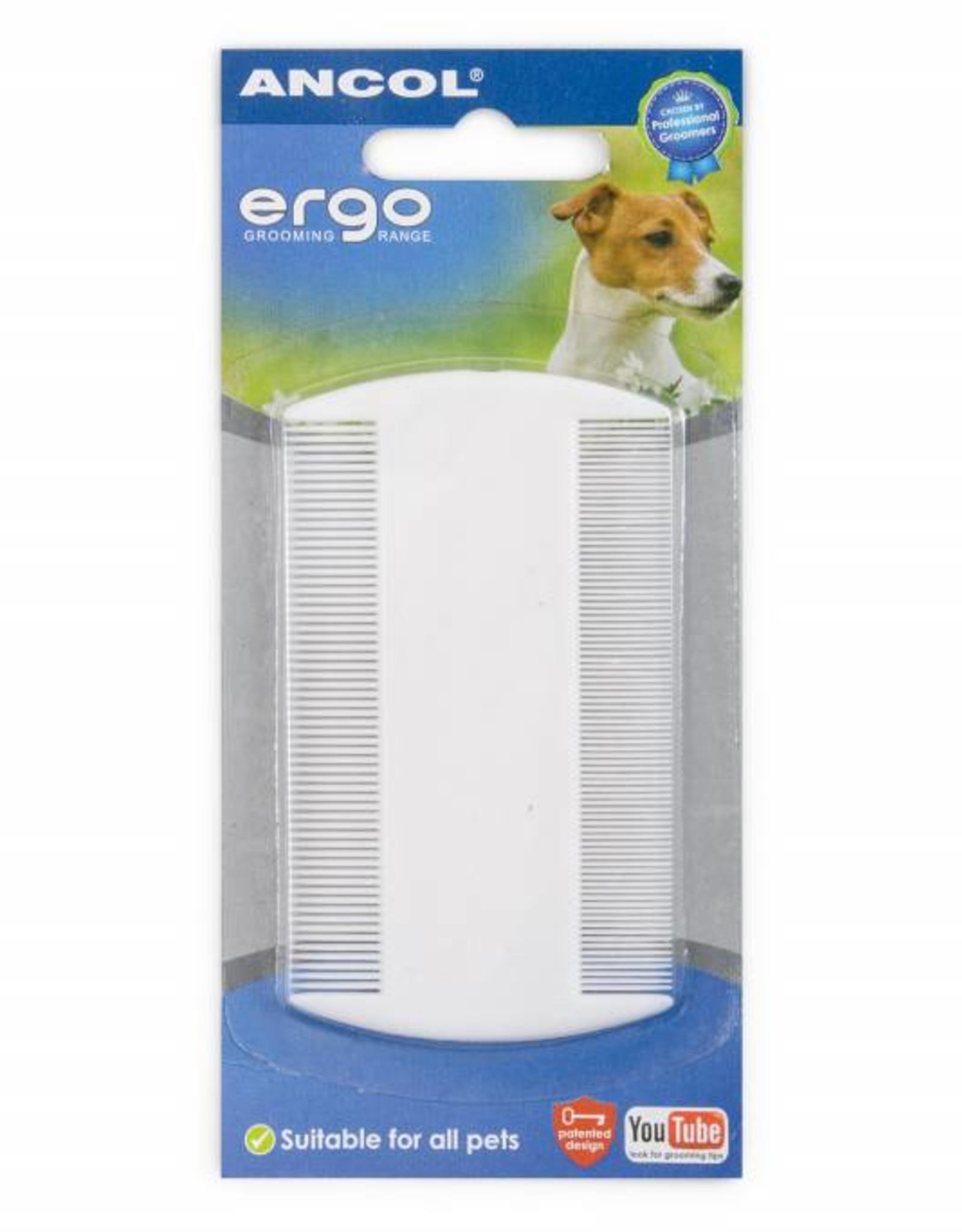 Ancol Ergo Plastic Flea & Nit comb