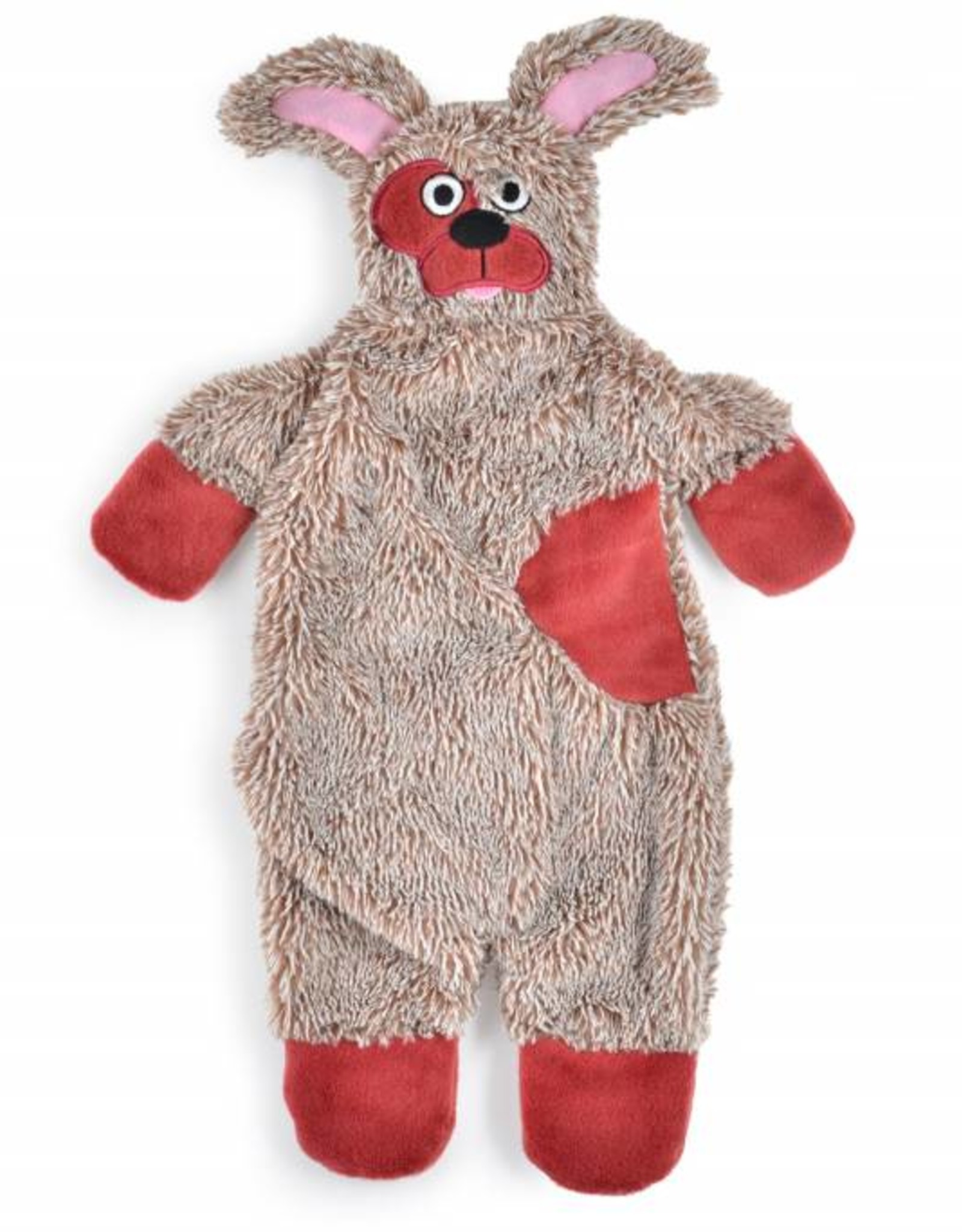 Ancol Floppet Plush Brown Dog Toy