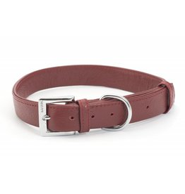 Ancol Heritage Indulgence Leather Dog Collar, Red