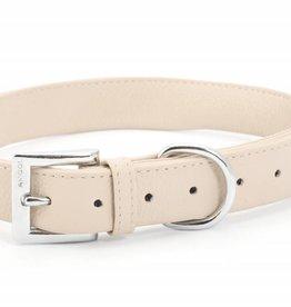 Ancol Heritage Indulgence Leather Dog Collar, Soft Truffle
