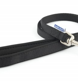 Ancol Heritage Padded Nylon Dog Lead 12mm x 1m