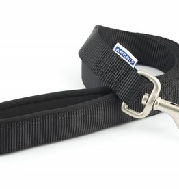 Ancol Heritage Padded Nylon Dog Lead 25mm x 1.8m