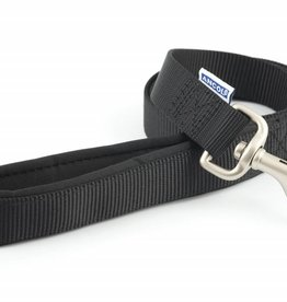 Ancol Heritage Padded Nylon Dog Lead 25mm x 1m