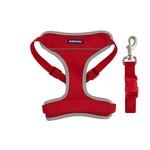 Ancol Nylon Travel Dog Harness, Red