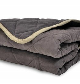 Ancol Quilted Sofa Throw, Brown  250cm x 1m TBD 2020