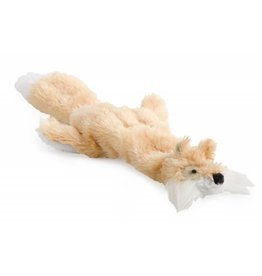 Ancol Small Bite Mini Floppet Fox with Squeaker Dog Toy