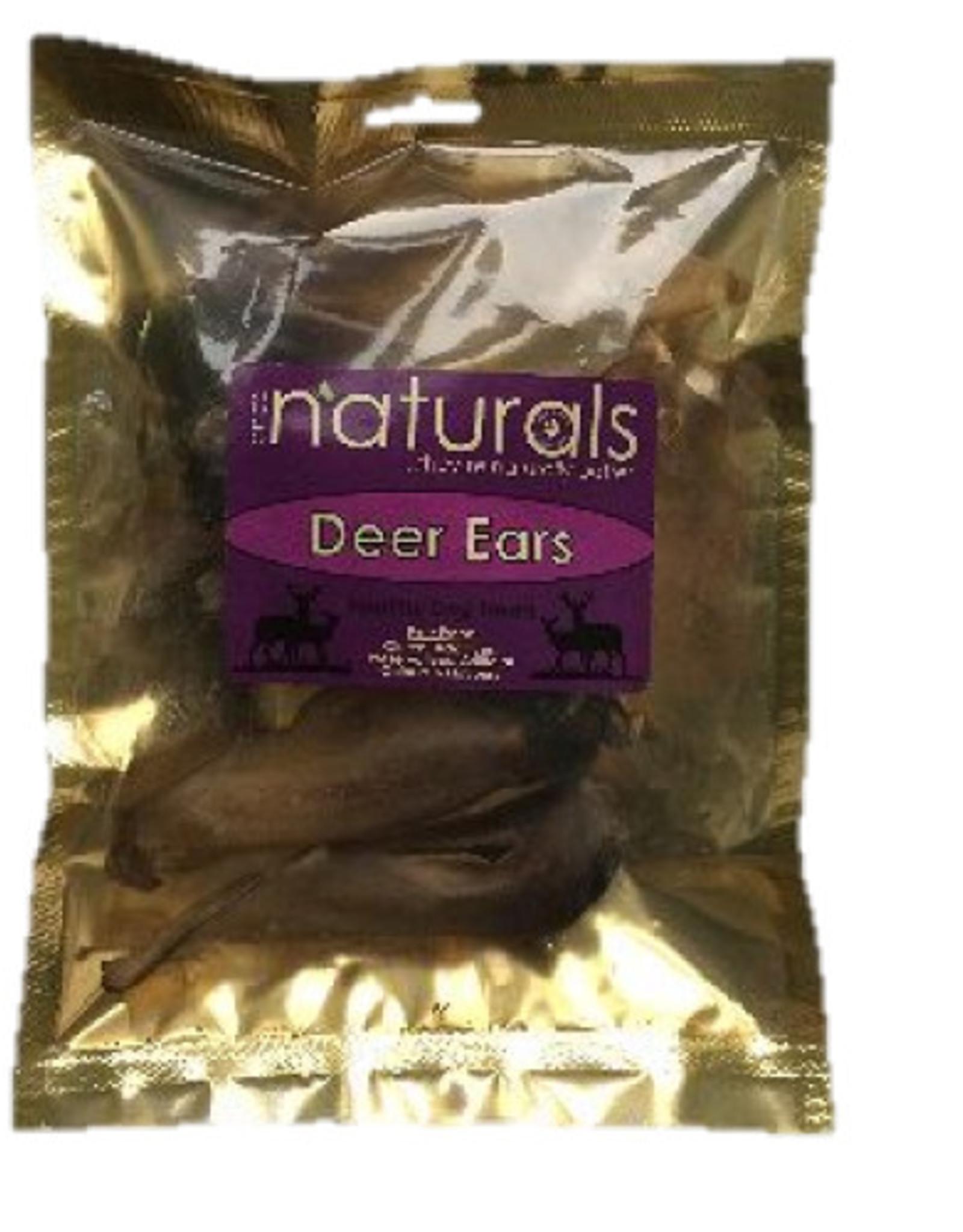 Anco Naturals Deer Ears Dog Chew Treats, 5 pack