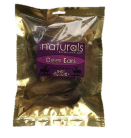 Anco Naturals Deer Ears Dog Chew Treats, 5 pack