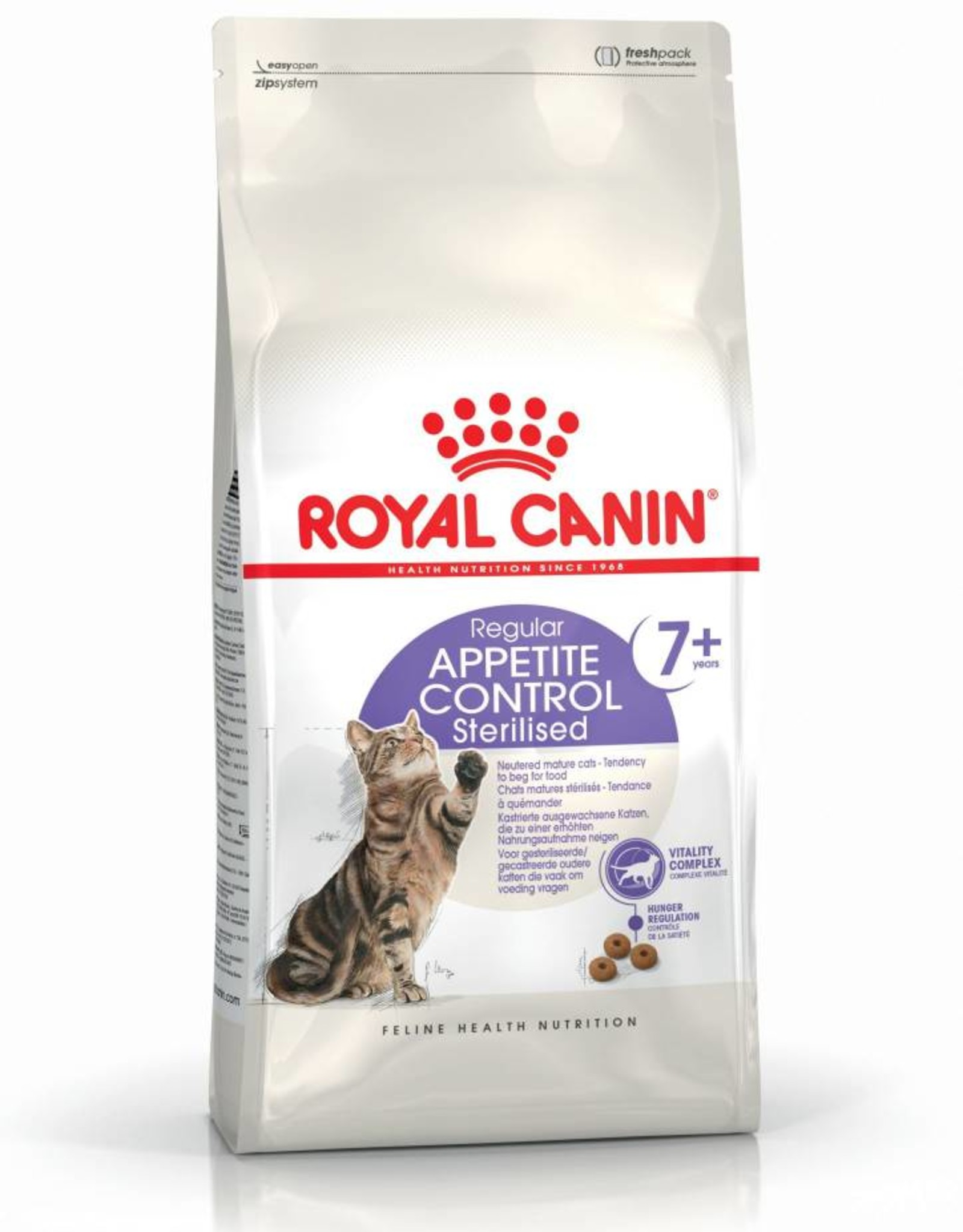 Royal Canin TBC ** Appetite Control Sterilised 7+ Adult Cat Dry Food,