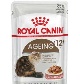 Royal Canin Feline Ageing +12 Pouch in Gravy Wet Cat Food 85g