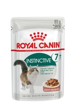 Royal Canin Instinctive 7+ Adult Cat Wet Food Pouch with Gravy, 85g