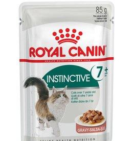 Royal Canin Feline Instinctive +7 Pouch in Gravy Wet Cat Food 85g