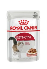 Royal Canin Instinctive Adult Cat Wet Food Pouch with Gravy, 85g