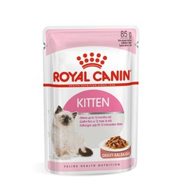 Royal Canin Kitten Wet Food Pouch with Gravy, 85g