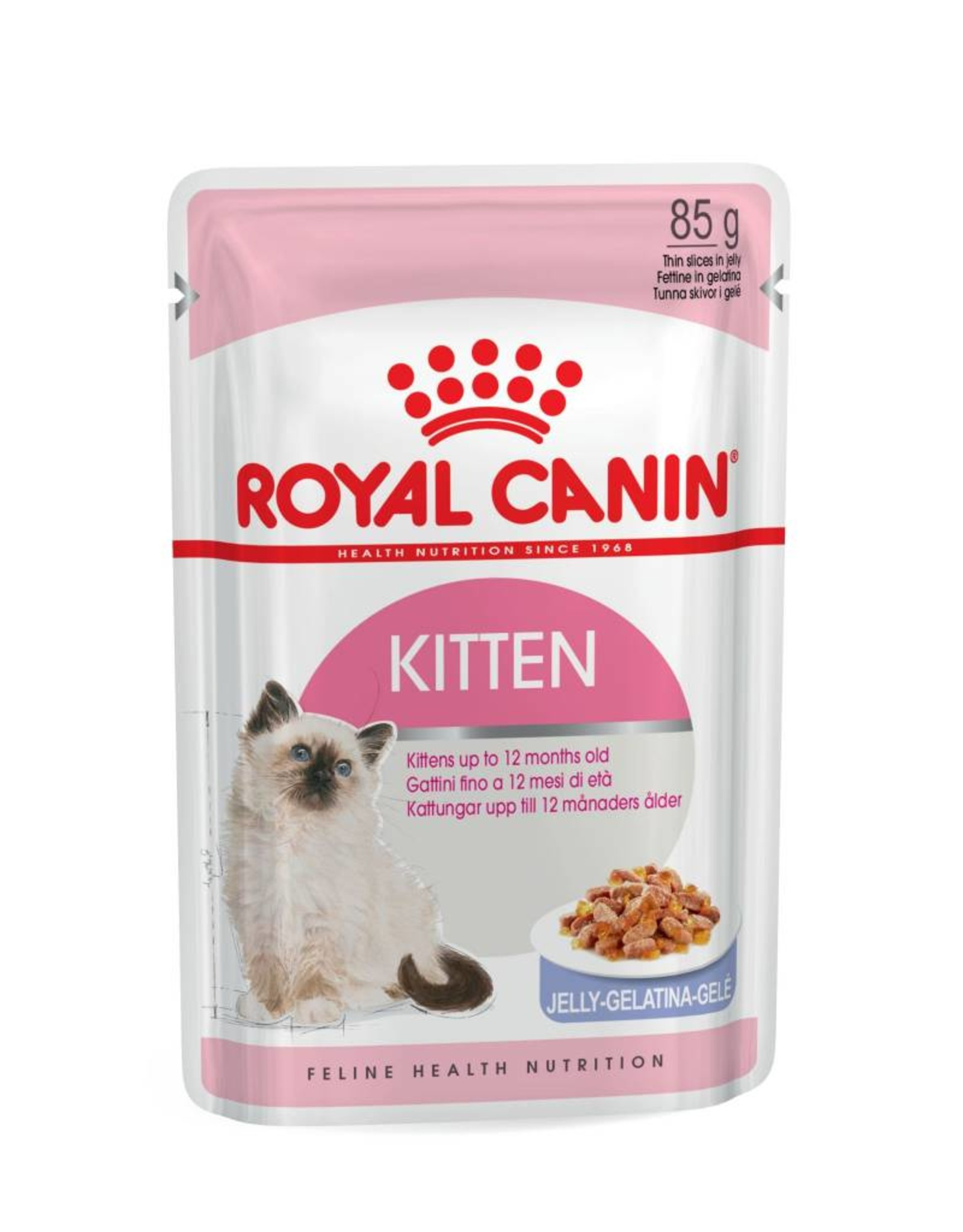 Royal Canin Kitten Wet Food Pouch with Jelly, 85g
