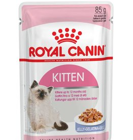 Royal Canin Feline Kitten Instinctive Pouch in Jelly Wet Cat Food 85g