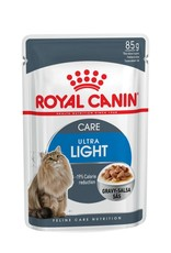 Royal Canin Light Weight Care Adult Cat Wet Food Pouch with Gravy, 85g