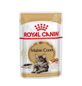 Royal Canin Maine Coon Adult Cat Wet Food Pouch, 85g